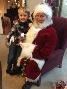 Sam & Santa