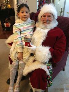 Vanessa & Santa